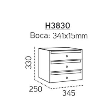 h3830 Adapta H3800 (medidas)