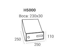 Unik arregui medidas h5000
