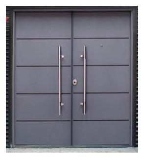 Imagen THT Puerta de seguridad Saga 100 doble hoja